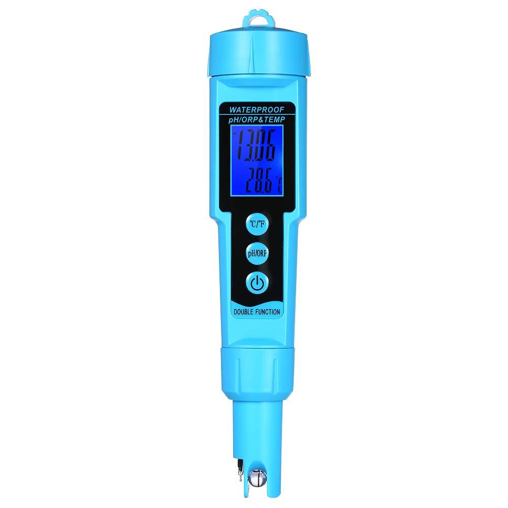 Festnight Professional 3 in 1 pH/ORP/Temp Meter Water Detector Multi-Parameter Digital LCD Tri-Meter Multi-Function Water Quality Monitor Multi-Parameter Water Quality Tester by Festnight