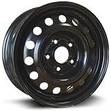 RTX, Steel Rim, New Aftermarket Wheel, 15X6, 5X114.3, 67.1, 45, black finish X45567