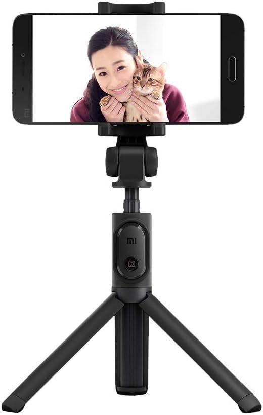 Xiaomi - Palo de Selfie con Bluetooth, portátil, Extensible, Soporte trípode de Mano, para teléfonos iOS Android (Negro)