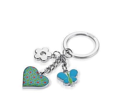 TROIKA Turquoise Heart - KR16-02/TQ - Llavero con 3 dijes ...