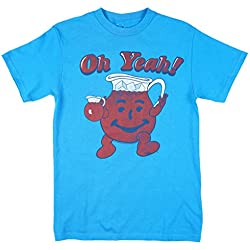 Kool-Aid Oh Yeah Mens T-Shirt in Blue