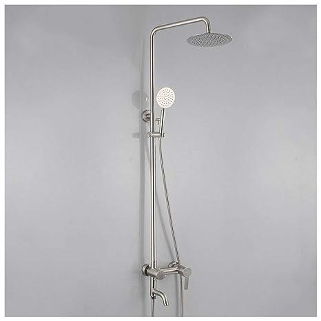 Mezclador de Ducha baño Conjunto de Acero Inoxidable 304 ...