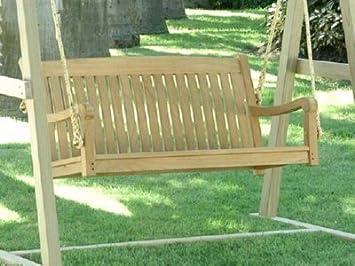 Amazon Com Atlanta Teak Furniture Classic Teak Swing