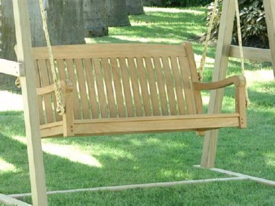 Atlanta Teak Furniture - Classic Teak Swing - 48
