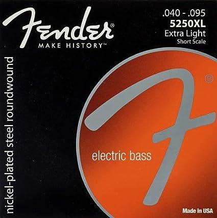 CUERDA BAJO ELECTRICO - Fender (040) Entorchada (Unidad Suelta)