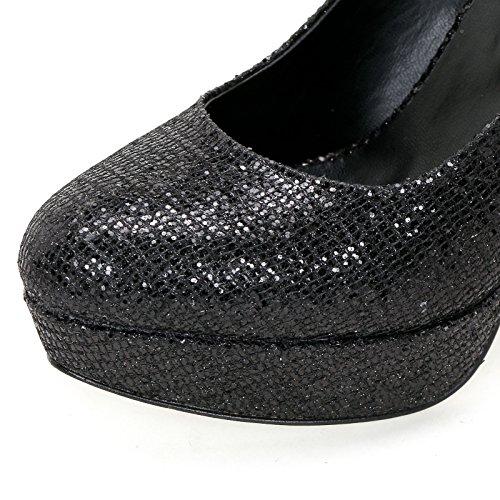 Tacco Scarpe Alla Alesya Caviglia Cinturino Con amp;scarpe Col Scarpe Nero xqCI4wvUI