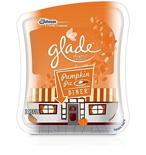 Johnson Glade PlugIns Scented Oil, Pumpkin Pie Diner, 2 Refills
