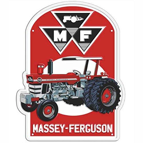 AGCO Massey Ferguson Vintage Metal Tacker Sign
