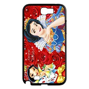 [H-DIY CASE] For Samsung Galaxy Note 2 -Snow White Holding Apple-CASE-3