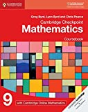 Cambridge Checkpoint Mathematics Coursebook 9 with Cambridge Online Mathematics (1 Year)