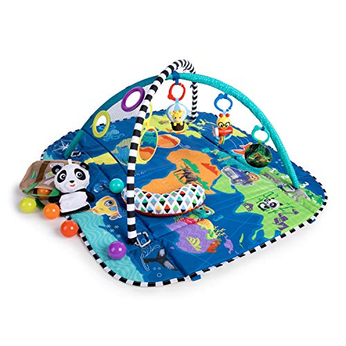 Baby Einstein 5-in-1 Journey of Discovery Activity Gym (The Best Ball In The World)