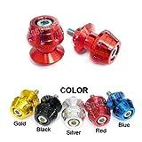 MIT Motors - RED - 10mm Universal Swingarm Spools - KAWASAKI ZX6R ZX6 636, ZX9R ZX9, ZX10R ZX10, ZX12R ZX12, ZX14R ZX14, ZZR 1200, 600, 900, Ninja 250, 650