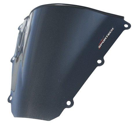 Sports Tech Carbon Fiber Series Windscreen , Material: Carbon Fiber 45491100 Windscreens Carbon Fiber Series