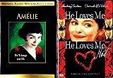 Audrey Tautou 2-Movie Romantic Bundle (3-DVD): Amelie / He Loves Me, He Loves Me Not