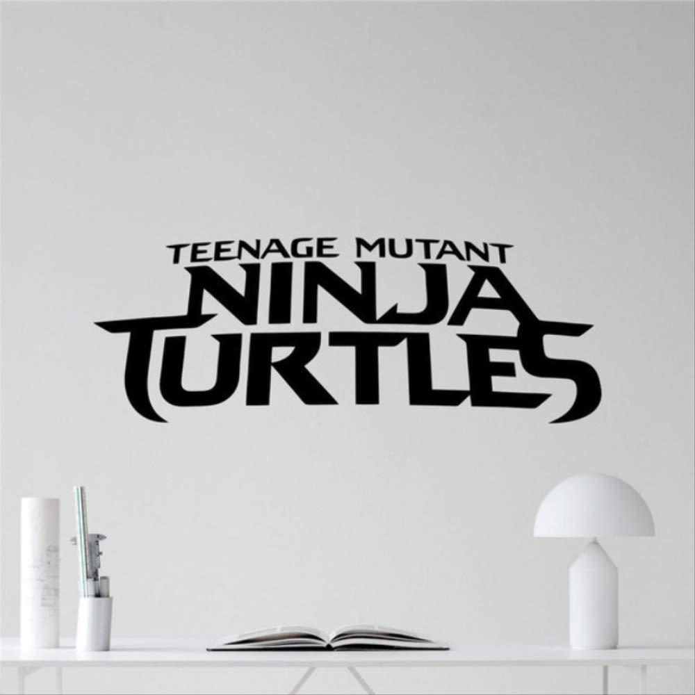 hzcl Tortugas Ninja Logo Etiqueta TMNT Emblema Logotype ...