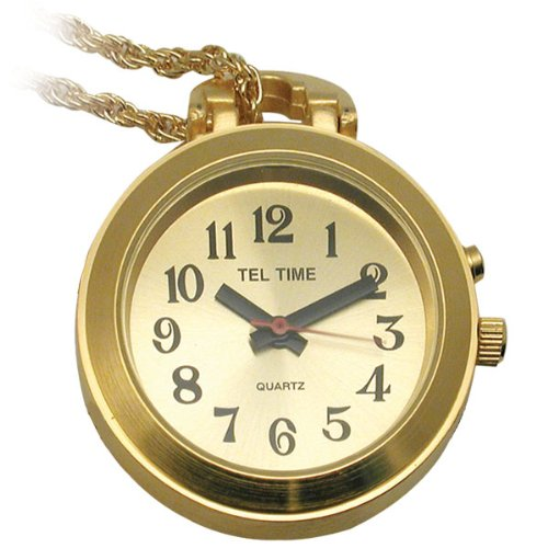talking pendant watch