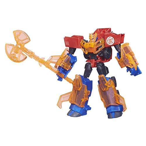 Con Costume (Transformers Robots in Disguise Decepticon Hunter Optimus Prime vs Decepticon Bludgeon)