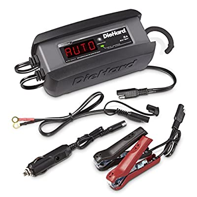 DieHard 71239 Platinum Smart Battery Charger & Maintainer (6/12 Volt 3 Amp)
