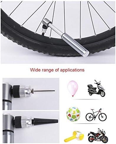 perg Transferencia Mini bicicleta bomba de aire portátil alta presión mano Ciclismo inflador de neumáticos (para Mountain Bike Baloncesto: Amazon.es: Hogar
