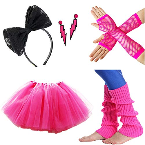 80s Fancy Dress Womens Costumes - Zivyes 80s Fancy Dress Costume Accessories