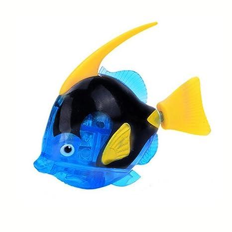 Juguetes electrónicos, showking natación Robot Fish Activado en agua mágica electrónica juguete para niños regalo
