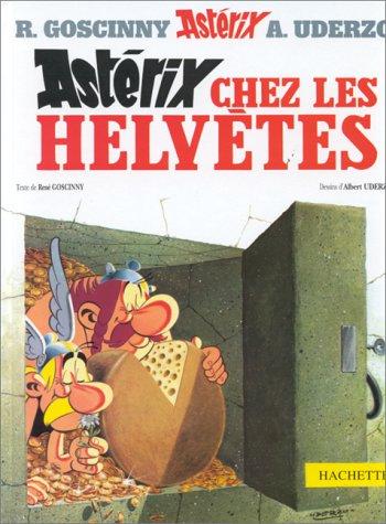 Astérix n° 16 Astérix chez les Helvètes
