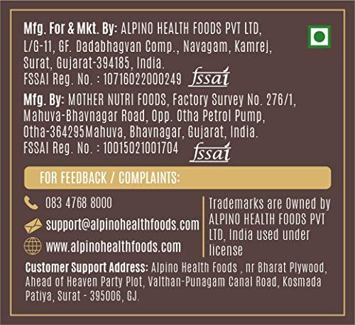 Alpino Natural Honey Peanut Butter Crunch 400 G (Gluten Free / Non-GMO)