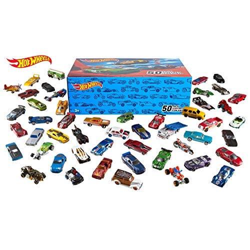 Hot Wheels Basic Car 50-Pack...