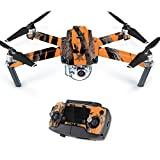 Cheap MightySkins Skin for DJI Mavic Pro Quadcopter Drone – Orange Camo | Protective, Durable, and Unique Vinyl Decal wrap Cover | Easy to Apply, Remove, and Change Styles | Made in The USA