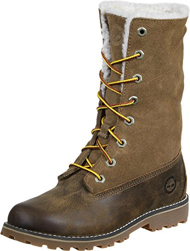 Mixte Timberland Bottes Authentics Marron Enfant SZw04Txq1