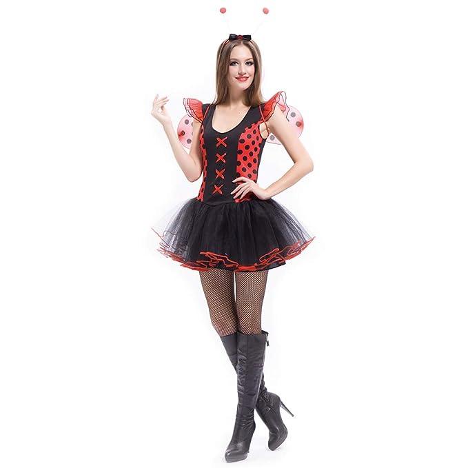 Amazon.com: Disfraz de mariquita para mujer, adulto ...
