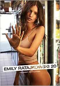 Amazon.com: Emily Ratajkowski 2020 Calendar (English, German and