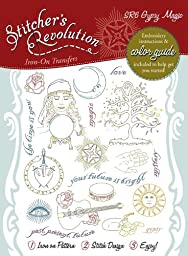 Stitcher\'s Revolution Gypsy Magic Iron-on Transfer Pattern for Embroidery