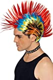 Smiffys 80s Street Punk Wig, Mohawk
