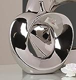 Vase 'apple'26 x 23 cm (argent)