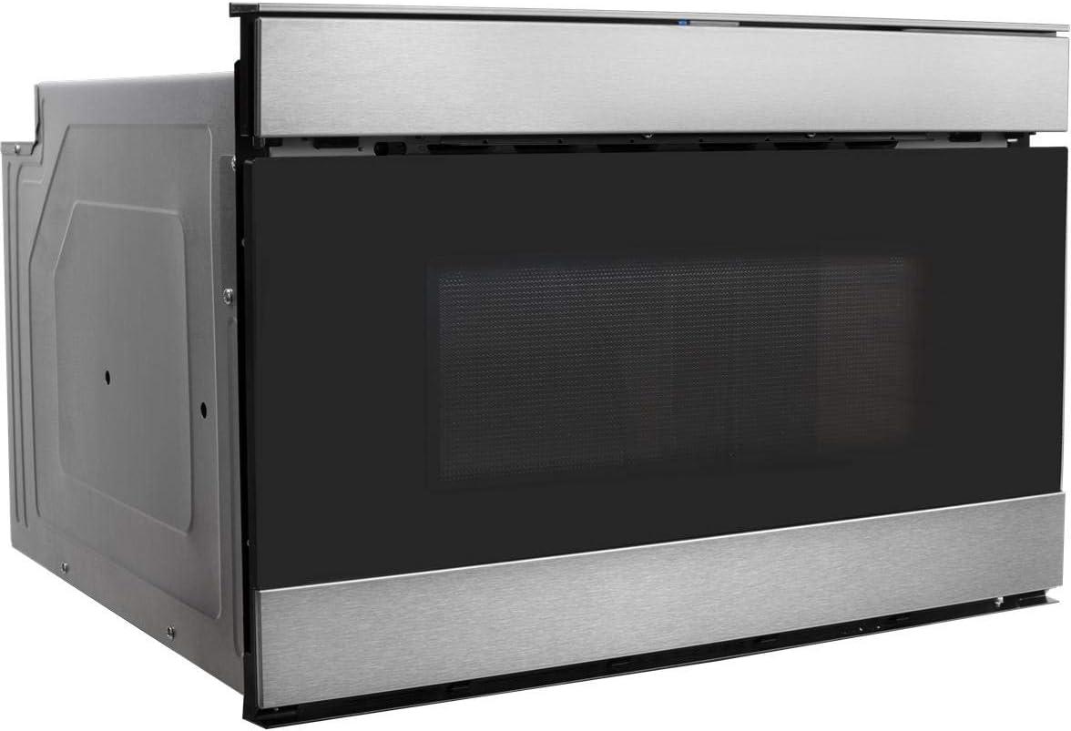 Sharp SMD2489ES cajón para microondas de 24 pulgadas con 1.2 cu ...