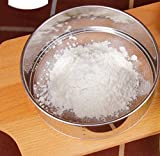 """LOVEDAY 6"""" Stainless Steel Professional Round Flour Sieve Strainer with 40 Mesh"""