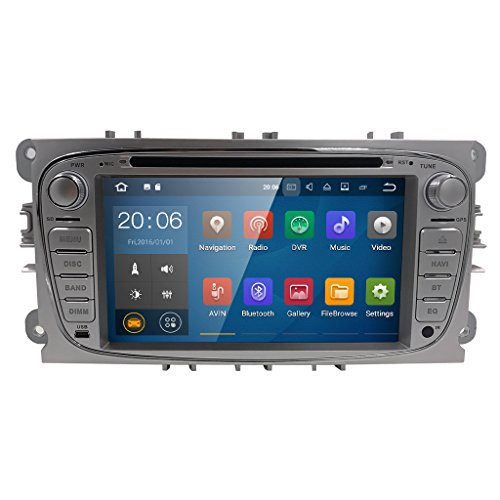 Android 7.1 Quad Core 7 inch Car Audio Stereo Double Din Car DVD In Dash...