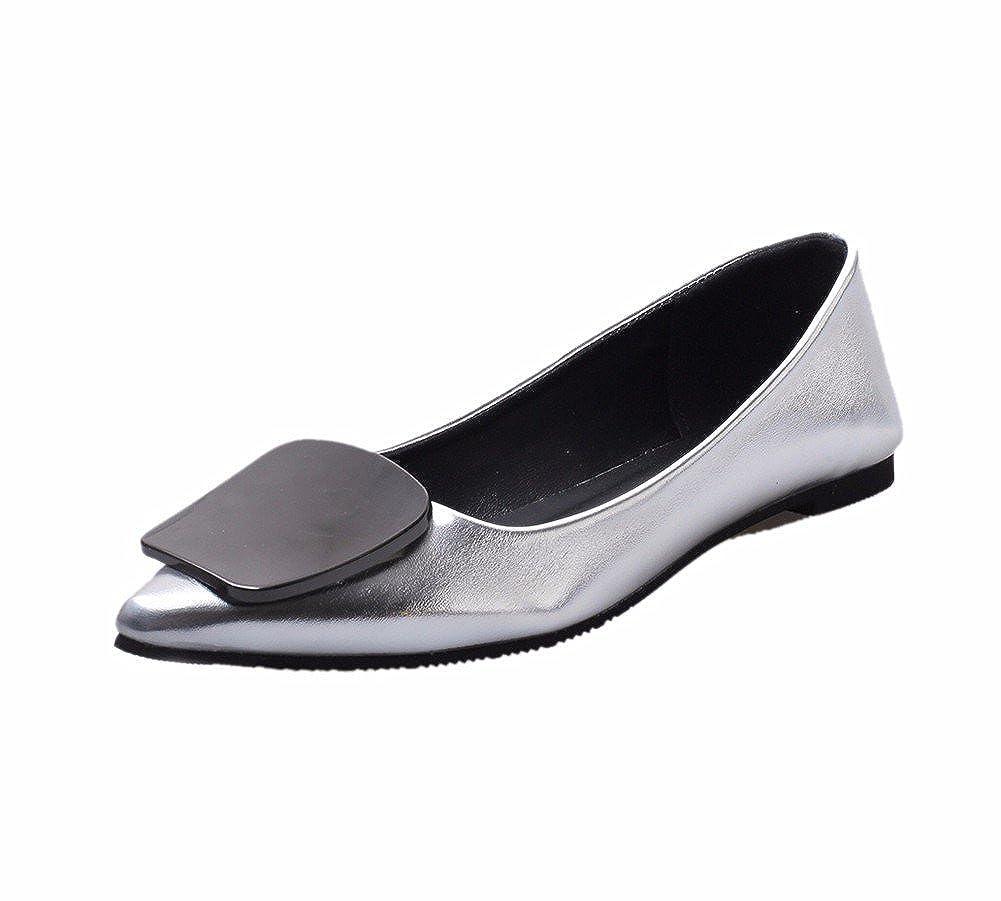 YUCH Damens's Single Schuhe Bequem und Flache Schuhe Täglich