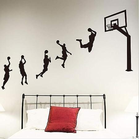 Jugadores de baloncesto Laup Etiqueta de la pared Vinilo ...