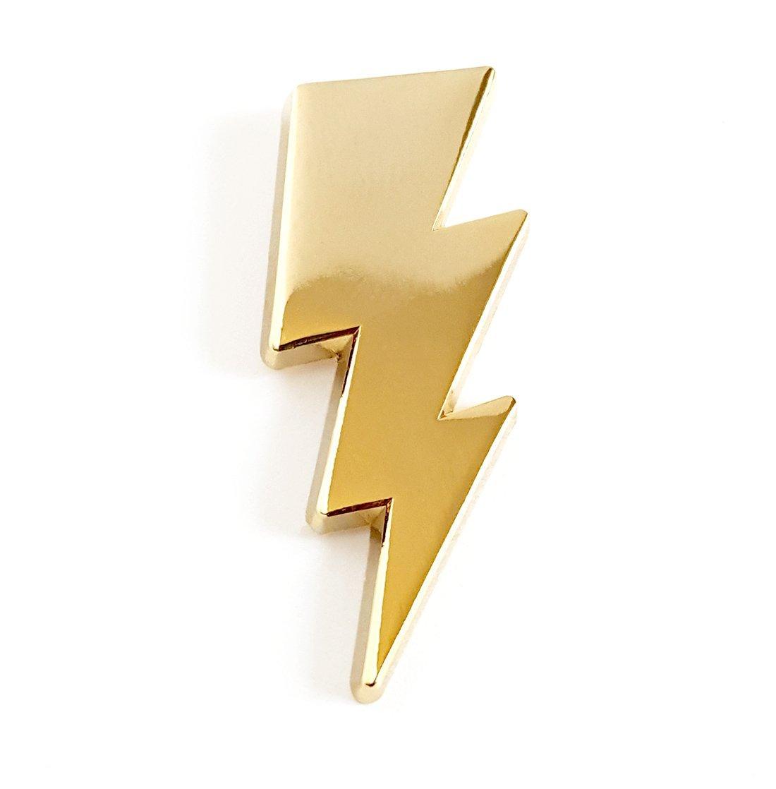 Lightening Bolt Lapel Pin