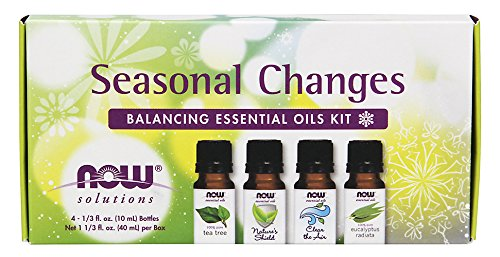 Now Solutions Seasonal Changes Balancing Essential Oils Kit