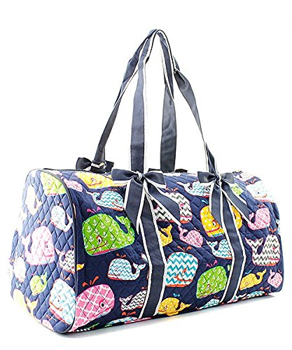 Quilted Whale Shoulder Duffel Bag by NGIL (Image #1)