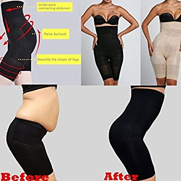 541f56c791455 Buy Sexy Women Beauty Slimming Shapewear Fat Burning Slim Shape Bodysuit  Pants Slimming Wraps High Waist Slimming Pants Shapewear L Online at Low  Prices in ...