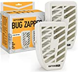 Indoor Plug-in Bug Zapper - 2 Pack - 3.5 W / 110v with UV Light - Power Portable Home Electric Insect Trap - Odorless Noiseless - Blue Night Lamp for Removes Flies Mosquitos Gnats Moth and Bugs