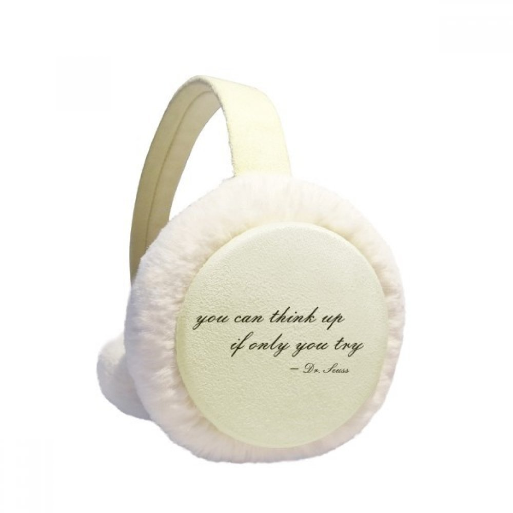 You Can Think Up If You Try Winter Earmuffs Ear Warmers Faux Fur Foldable Plush Outdoor Gift