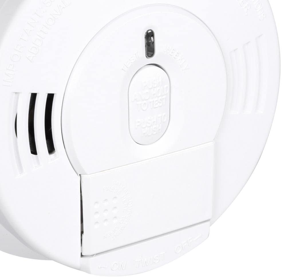 Kidde Hardwired Smoke Detector Alarm With Front Load Battery