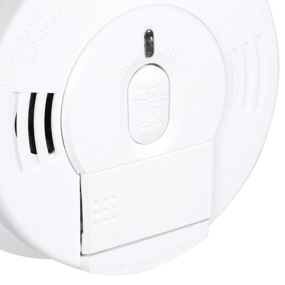 Model i12060 Kidde Hardwired Smoke Detector Alarm with Front Load ...