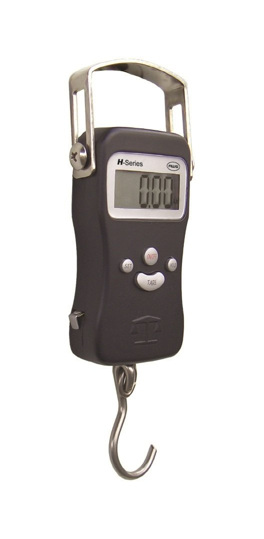 American Weigh Scales AWS H Series Digital Multifunction Electronic Hanging Scale, Black 110lb