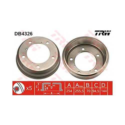 TRW DB4326 Brake Drums: